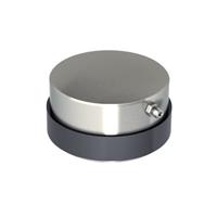 Pivot inférieur réglable à souder portail lourd -  750 Kg - D50 mm Acier