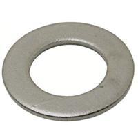 Rondelle plate type M NFE 25513-25514 acier zingué M08 Ø18 x 1.5 mm Bossard