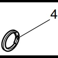 MAKITA Circlip S-18 pour scie sabre JR3050T(961078-7)