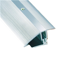 Seuil de porte percé aluminium 7 à 23 mm 0.9 mètres Romus 3280