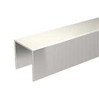 Profil U 30 x 30 mm galvanisé longueur 3 mètres Mantion 1110/300