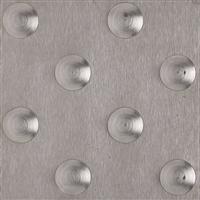 Dalle podotactile dalinox en inox brossé 304 928 x 420 x 7 mm : Romus