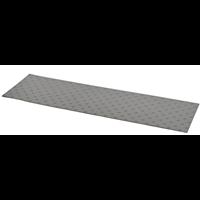 Dalle podotactile adhésives accesdal-xl en polyuréthane 400 x 1350 mm gris : Romus