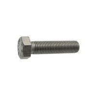 Vis métaux tête hexagonale filetée Inox A2 DIN933 ISO4017 M6x20 Acton 1237993