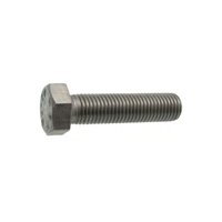 Vis métaux tête hexagonale filetée Inox A2 DIN933 ISO4017 M12x100