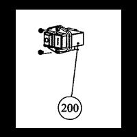Interrupteur pour bétonnière Betomix B154 Altrad 184017