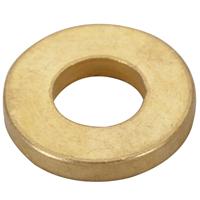Bague en laiton pour paumelle Clémenson menuiserie bois 12x6,2x1,75 mm