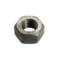 Écrou hexagonal acier galva à chaud 12 mm FABORY 01500.120.001