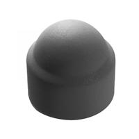 Cache écrou hexagonal - Diamètre M4 - Polyéthylène - Coloris gris - Boîte de 200