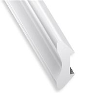 Corniche en PVC cellulaire blanc - 20 x 20 mm - longueur 2.6 mètres 2034-04