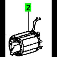 Empilage de tole d'inducteur 230 V pour ATF 55 485785 Festool 493220