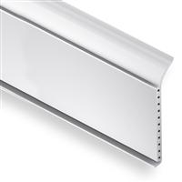 Plinthe en PVC cellulaire blanc - hauteur 60 mm - longueur 1 m 2131-04