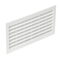 Grille de ventilation rectangulaire NICOLL 1B161 29,9 x 12 x 1,5 cm