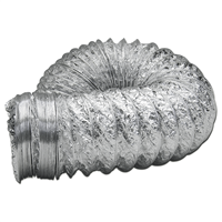 Gaine VMC en alu souple diamètre 100 mm longueur 2.5 m Autogyre 21010002