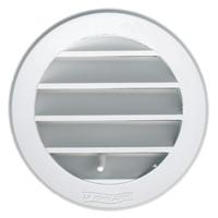 Grille ventilation ronde à encastrer intérieur/extérieur-40mm- Lot de 4