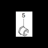Écrou hexagonal M8 pour défonceuse 3620 et RP0900 Makita 252094-3
