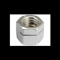 Écrou fendu haut autofreiné acier zingué 8 mm Fabory 13200080001