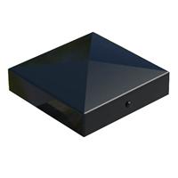 Chapeau poteau bois noire 70 x 70 mm Simpson-Strong-Tie CABOCHON70PB