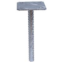 Pied de poteau simple platine à sceller Simpson Strong-Tie PPSP130