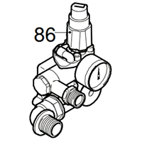 Tête de pompe CPL pour nettoyeur haute pression Makita HW 131 RLW 42391