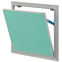 Trappe de visite Gypso cadre alu plaque plâtre hydrofuge 20x20 cm