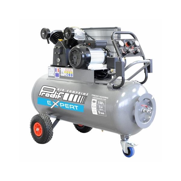 compresseur 150 litres 3cv powair industrie tre2214030mg