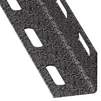 Cornière égale perforée - acier profilé à froid - gris martelé - 27 x 27 mm - longueur 2 m CQFD 2001-61593