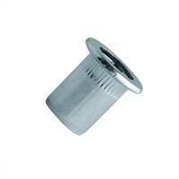 Scell-It Ecrou aveugle cranté acier tête plate Ø 08-30 : TCD0830