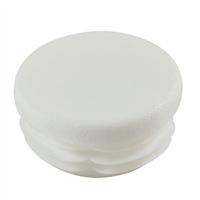 Embout rond entrant Polyéthylène blanc Ø60 mm : PRODIF-SOMEC E4460B