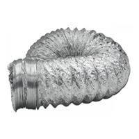 Gaine aluminium souple ventilation domestique - Ø 125 mm - 10 mètres