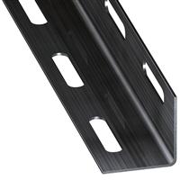 Cornière égale perforée acier laminé froid verni 27 x 27 mm1 mètre