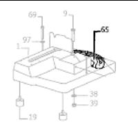Réglette de remplacement pour scie à ruban SX 815 DVP Promac PM-815065
