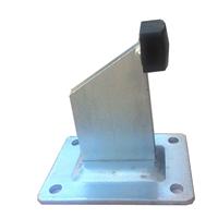 Butée de portail sur platine hauteur 130 mm PRODIF-SOMEC F950