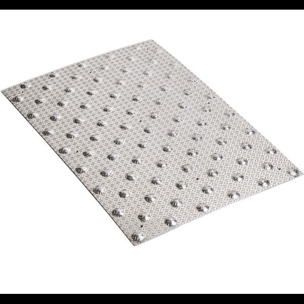 dalle podotactile dalum en aluminium larm pour ext rieur 982 x 420 mm romus. Black Bedroom Furniture Sets. Home Design Ideas