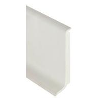 Plinthe PVC Romusflex semi-rigides Blanc neige 100mmx3m linéaire