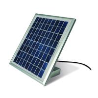 Panneau solaire pour moteur de portail Moovo avec caisson batterie 12 V
