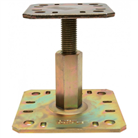 Pied poteau réglable hauteur 100 à 150 mm Simpson Strong-Tie PPRC