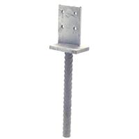 Pied de poteau en âme à sceller Simpson Strong-Tie PPI/26000