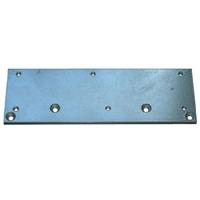 Plaque support DIN profil métallique Groom pour ferme-porte 3400 et 3500