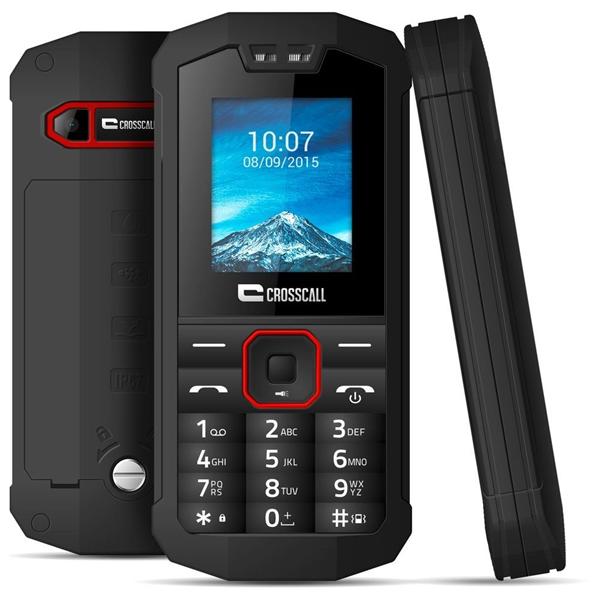 Téléphone Portable Chantier Spiderx1 Noir Crosscall Spx1packbonn000