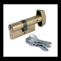 Tesa Cylindre à bouton laiton 30/30 : 503B3030L 8414625010795