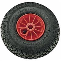 Roue complète corps plastique moyen à rouleaux diamètre 260 mm alésage 20 : PRODIF-SOMEC 030480