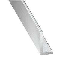 Cornière inégale - Aluminium brut - 15 x 10 mm - épaisseur 1 mm - longueur 1 m CQFD 2005-5230