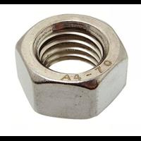Ecrou HU DIN934 Inox A4 diamètre 5 mm boîte de 200