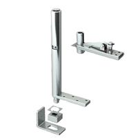 Pivot ferme-porte invisible Mantion - Ouverture droite - 85 Kg - Acier