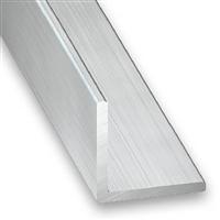 Cornière égale - Aluminium brut - 10 x 10 mm - épaisseur 1 mm - longueur 2 m CQFD 2004-5220