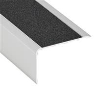 Nez de marche Alu incolore bord sifflet 68 x 43 mm longueur 3 mètres