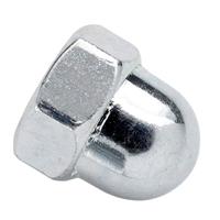 Écrou hexagonal borgne DIN 1587 acier zingué diamètre 6 mm VISWOOD