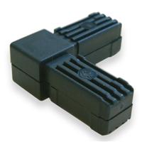 Raccord pour tube carré Alu Type 1 - 20 x 20 mm - lot de 2 CQFD 2004-7002