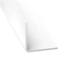 Cornière d'angle PVC blanche - 7 x 7 mm - longueur 1 mètre CQFD 2002-68520